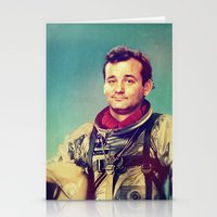 murray Stationery Cards featuring Space Murray by rubbishmonkey