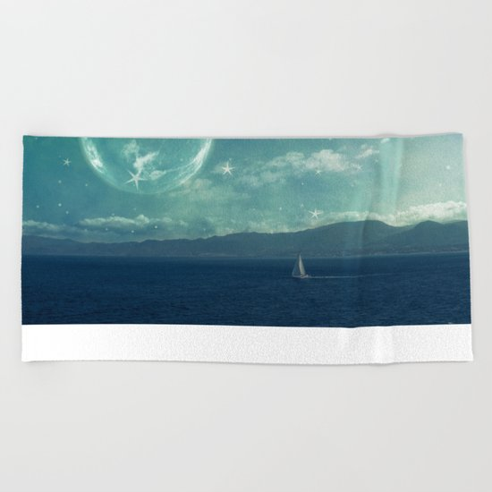 Earthrise Beach Towel