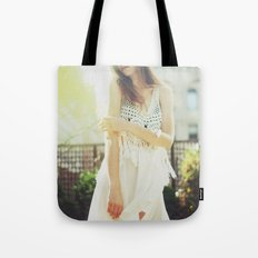 A Golden Summer's End Tote Bag
