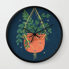 Hanging Ivy Wall Clock