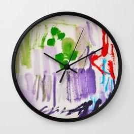 Doodles Paper by Elisavet World Wall Clock