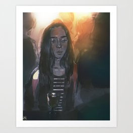 vivid dreams Art Print