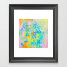 Scratches Framed Art Print