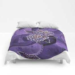 Triptych-1 Comforters