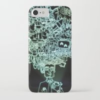 geek iPhone & iPod Cases featuring GEEK by taniavisual