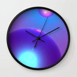 Spheres, No. 2 Wall Clock