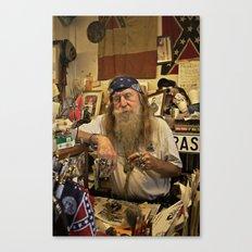 Wildman. Canvas Print