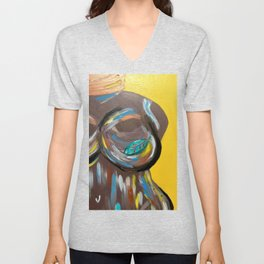 Bare Faced Unisex V-Neck
