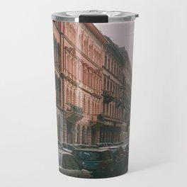 Cars in Budapest Travel Mug