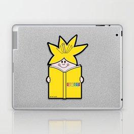 Reading Rainbow in Harmony - Yellow Laptop & iPad Skin