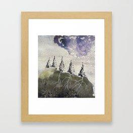 Water Cycle Framed Art Print