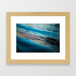 Oily Reflection Framed Art Print