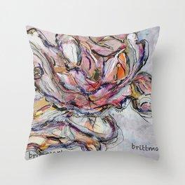 Bluehte/Genaeht/brittmarks Throw Pillow