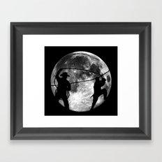 Night or Day Framed Art Print