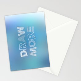 Draw more! Stationery Cards