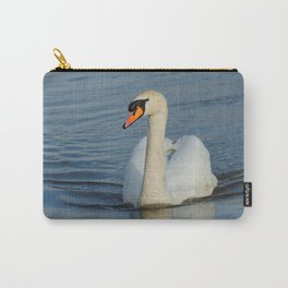 Elegant Mute Swan in the Harbor Carry-All Pouch