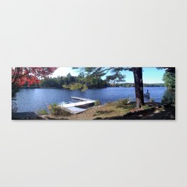 Pawtuckaway Lake Canvas Print