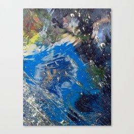 Under Ice Canvas Print