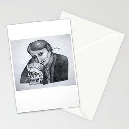 Mads Mikkelsen as Hannibal Portrait Stationery Cards