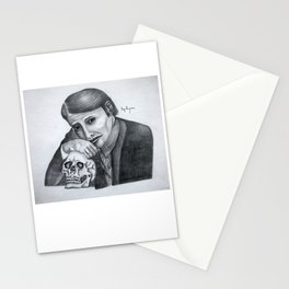 Mads Mikkelsen as Hannibal Portrait Stationery Cards