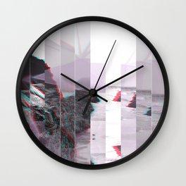 3D hills Wall Clock