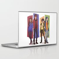 aang Laptop & iPad Skins featuring MODERN GAANG by Nymre