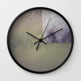 Green Pastures Wall Clock