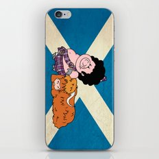 The highlander iPhone & iPod Skin