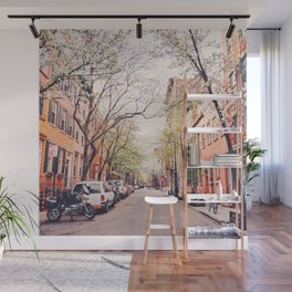 New York City - Springtime in the West Village Wall Mural