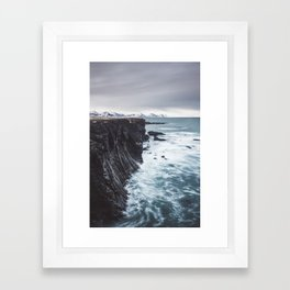 The Edge - Landscape and Nature Photography Framed Art Print