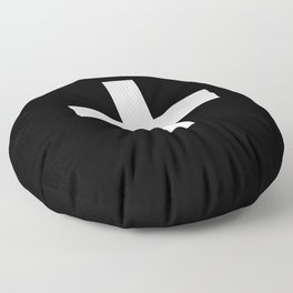 Plus Sign (White & Black) Floor Pillow
