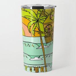 Tree House Free House surf paradise Travel Mug