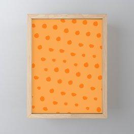 Midnight Citrus Pattern No 07 Framed Mini Art Print