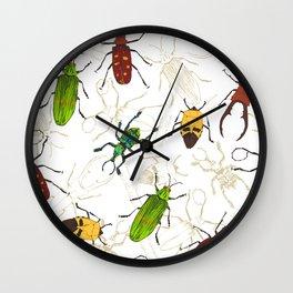 Beetles Wall Clock