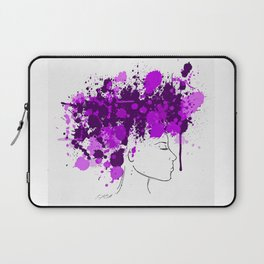 Free as my Hair Laptop Sleeve