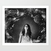 sci fi Art Prints featuring Sci-Fi by Melissa Smith