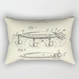 Fishing Lure-1921 Rectangular Pillow