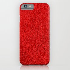 Blood Red Hotel Shag Pile Carpet Slim Case iPhone 6s