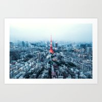 Tokyo Megacity Art Print