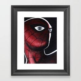 SPIDEY MAN Framed Art Print