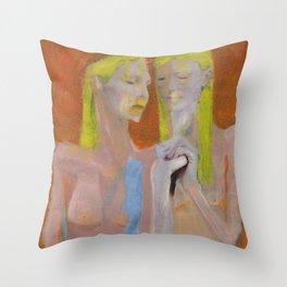 Dress Code -9- Throw Pillow