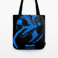 angel Tote Bags featuring Angel by Stephane Eck