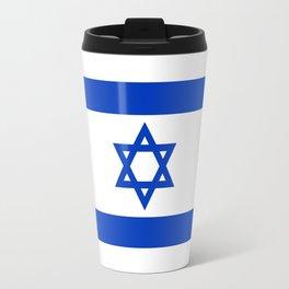 Flag of the State of Israel - High Quality Image Travel Mug