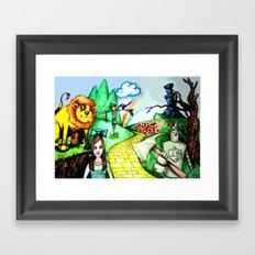 OZ Framed Art Print
