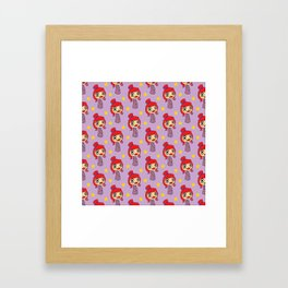 Japanese doll Framed Art Print