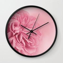 Light Pink Rose #1 #floral #art #society6 Wall Clock