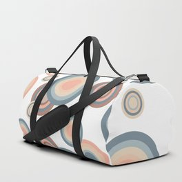 Pastel rainbow bubbles Duffle Bag