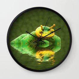 Pond skater Wall Clock