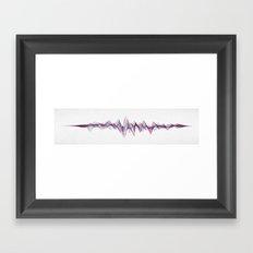 Stereowave Framed Art Print
