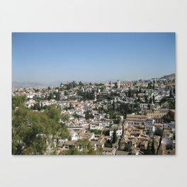 La Belleza de la Ciudad Canvas Print